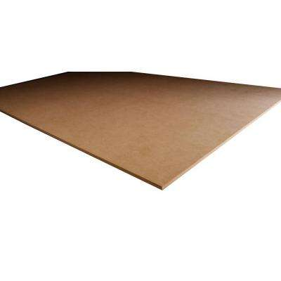 MDF Panel (Common: 3/4 in. x 4 ft. x 8 ft.; Actual: 0.750 in. x 48 in. x 96 in.)