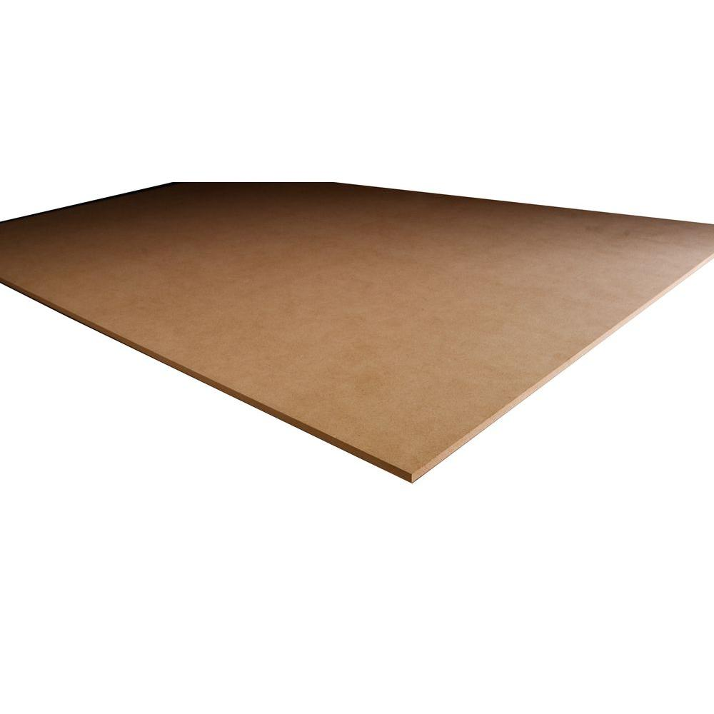 MDF Panel (Common: 1/2 in  x 4 ft  x 8 ft