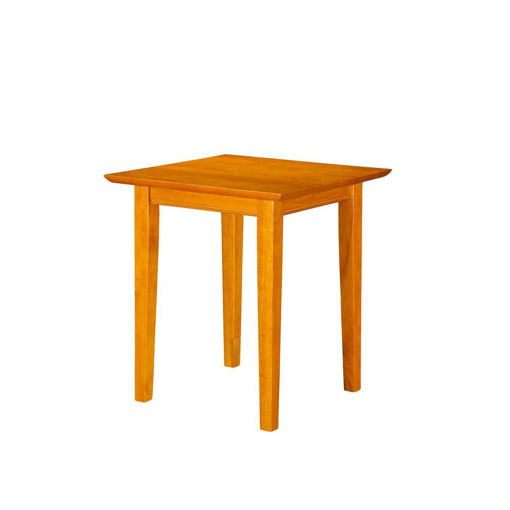 Shaker Caramel End Table