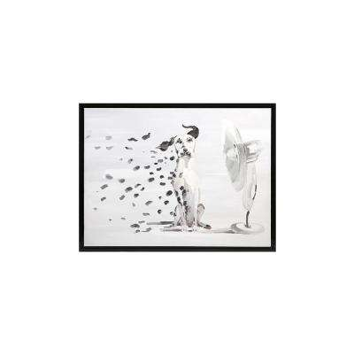 "37.75 in. x 49.75 in. ""Spot Remover"" Framed Wall Art"