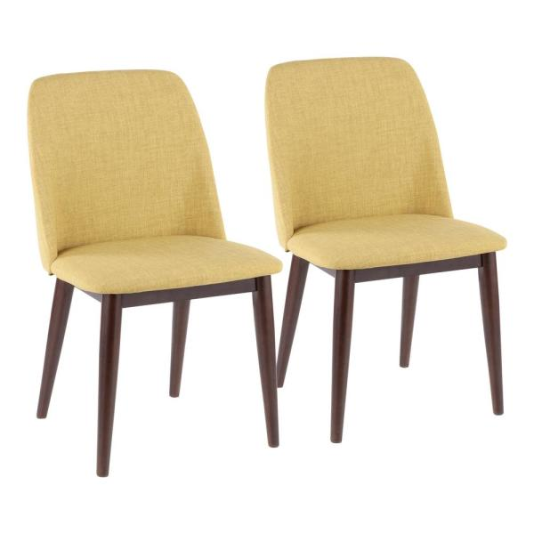 Lumisource Tintori Brown and Green Dining / Accent Chair (Set of