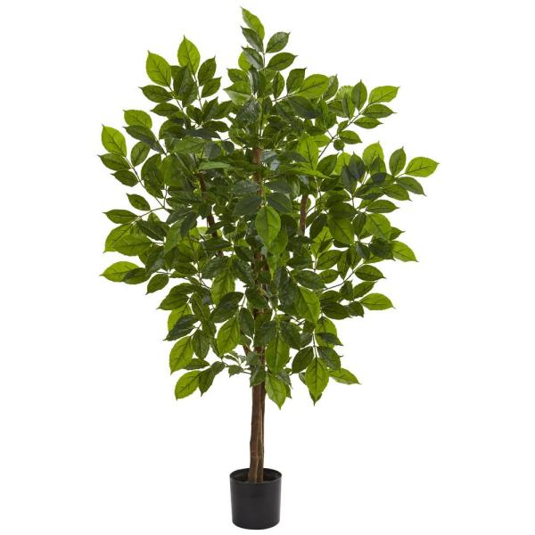 Nearly Natural Indoor 4 in. River Birch Artificial Tree 9169
