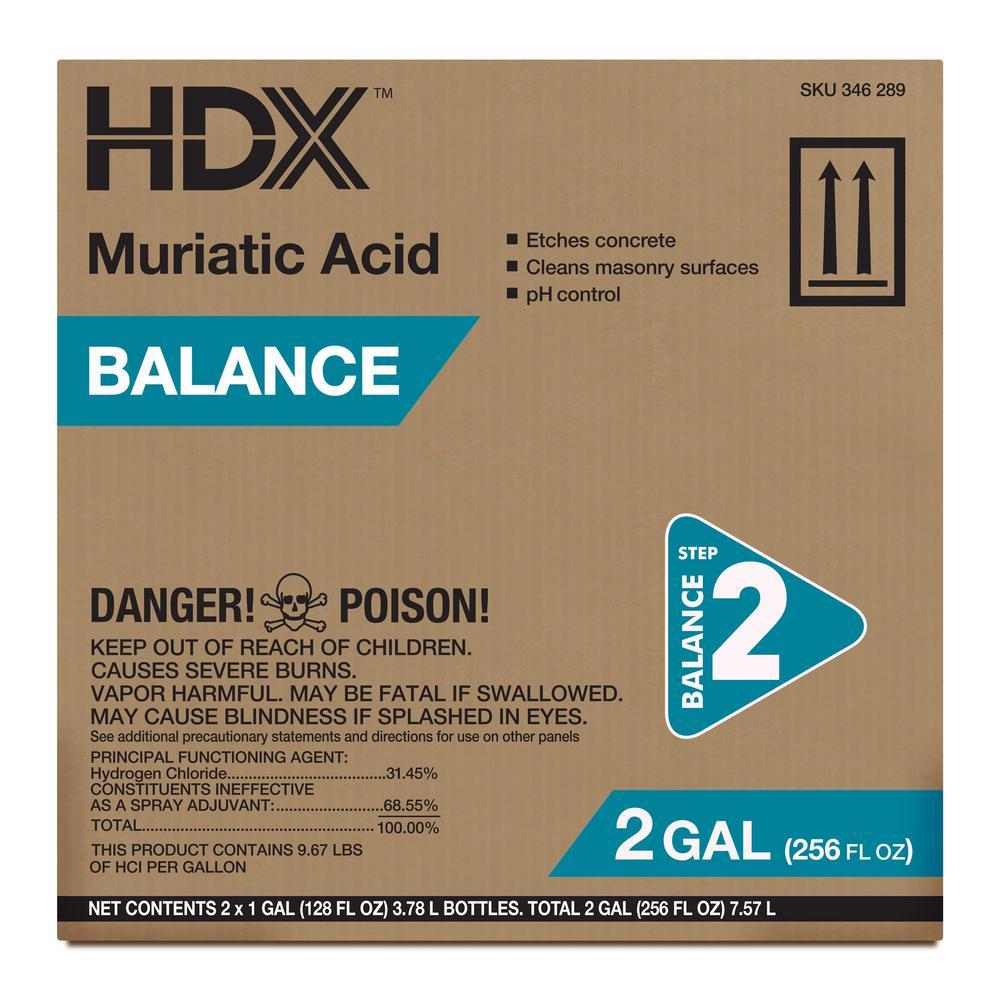 HDX 1 Gal  Muriatic Acid Balancer (2-Pack)
