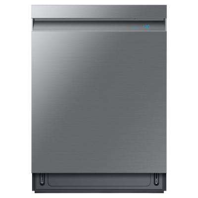24 in. Top Control Tall Tub Linear Wash Dishwasher in Fingerprint Resistant Stainless, 3rd Rack, AutoRelease, 39 dBa
