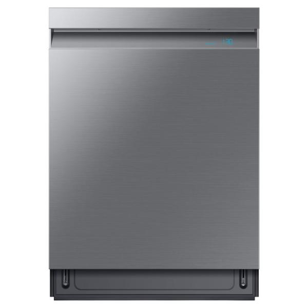Samsung 24 in. Top Control Tall Tub Linear Wash Dishwasher in Fingerprint Resistant Stainless, 3rd Rack, AutoRelease, 39 dBa