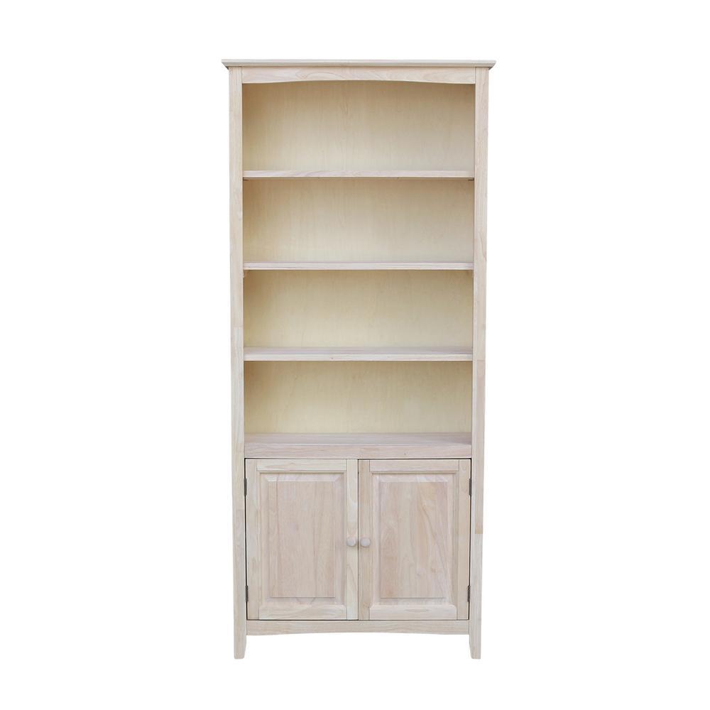 Shaker Bookcase Doors Brooklyn