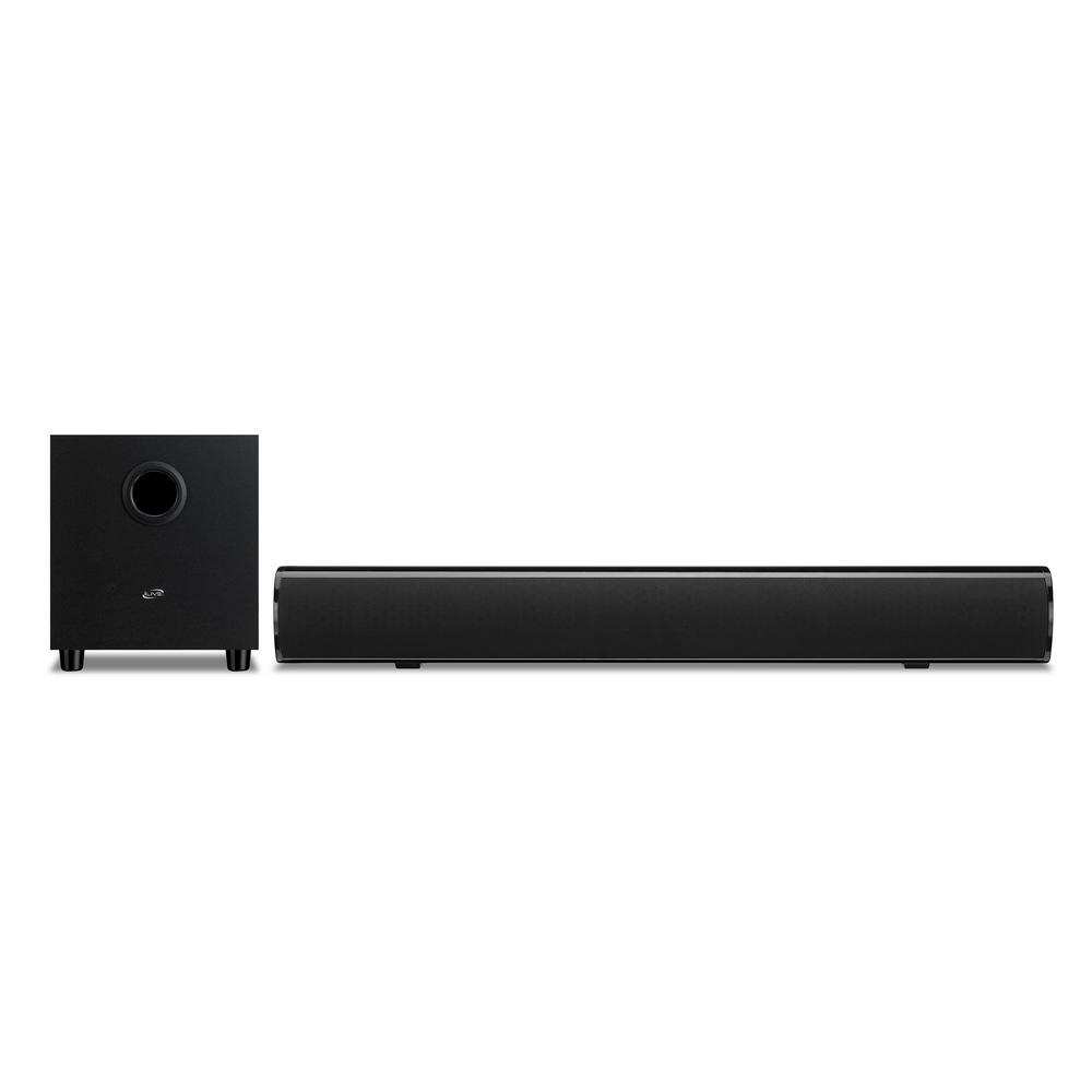 6d3efdc4b7a iLive 37 in. Soundbar with Wired Subwoofer-ITBSW285B - The Home Depot
