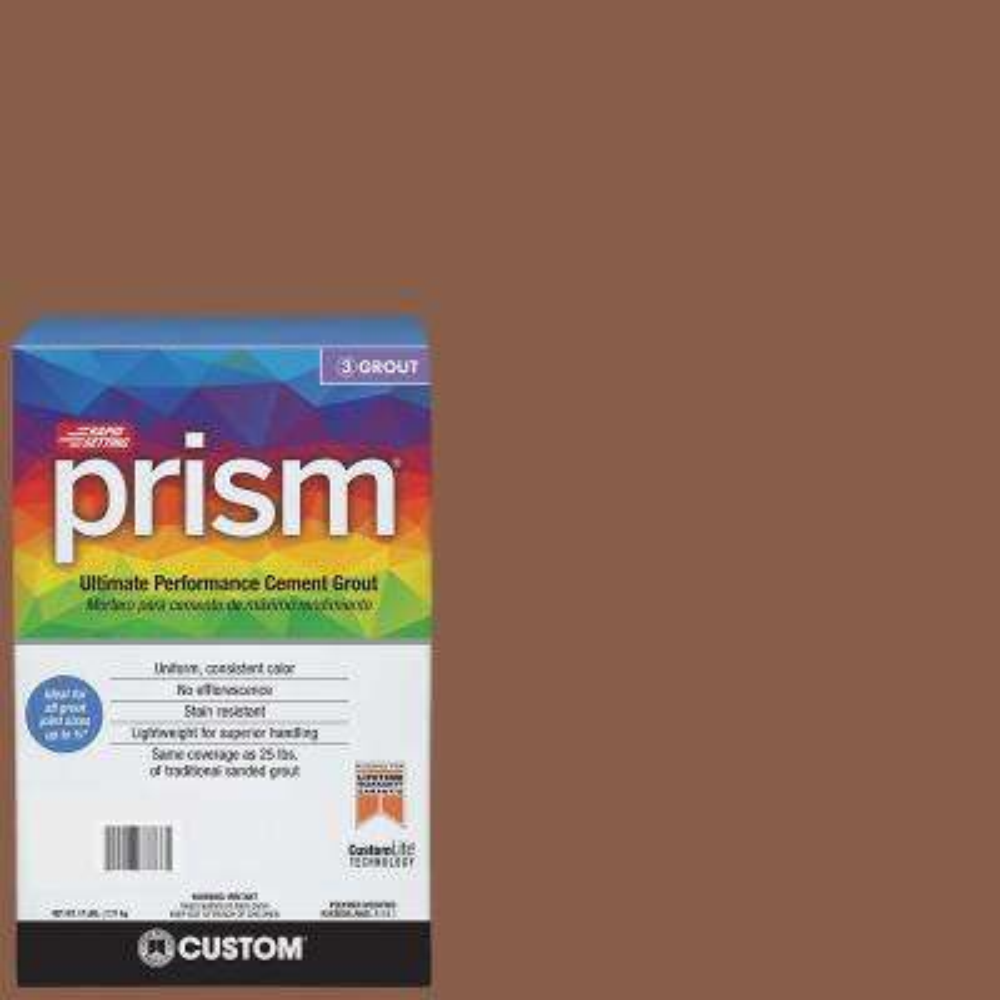 Prism #50 Nutmeg 17 lb. Grout