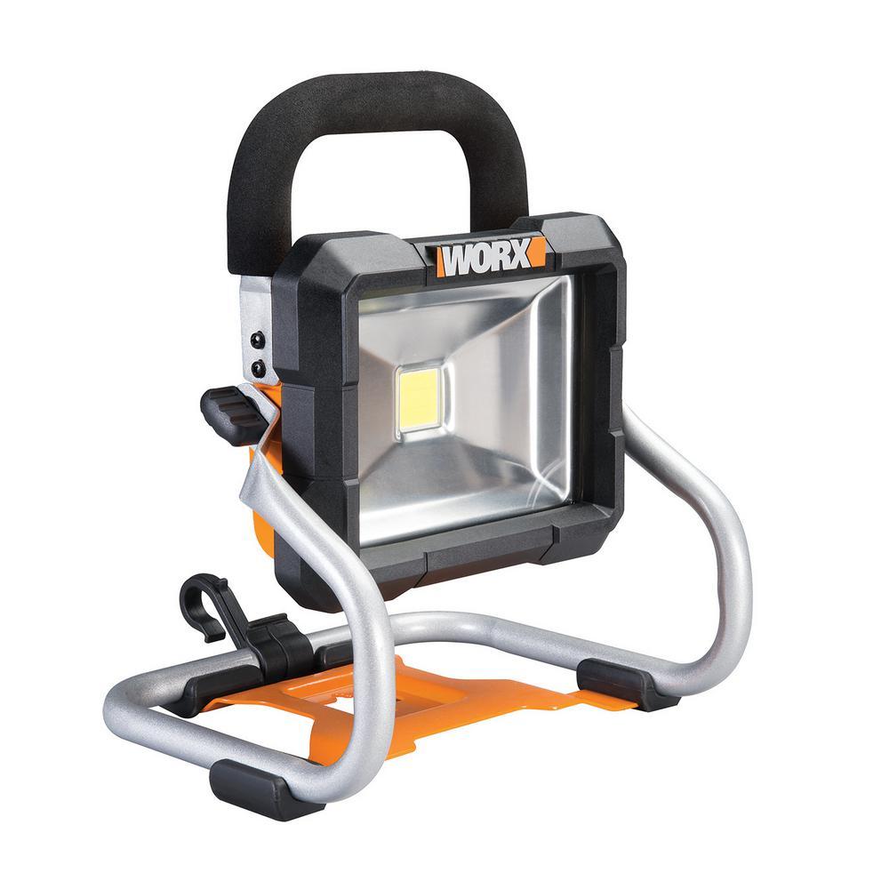 Worx 20 Volt Li Ion Work Light Bare Tool Only Wx026l 9