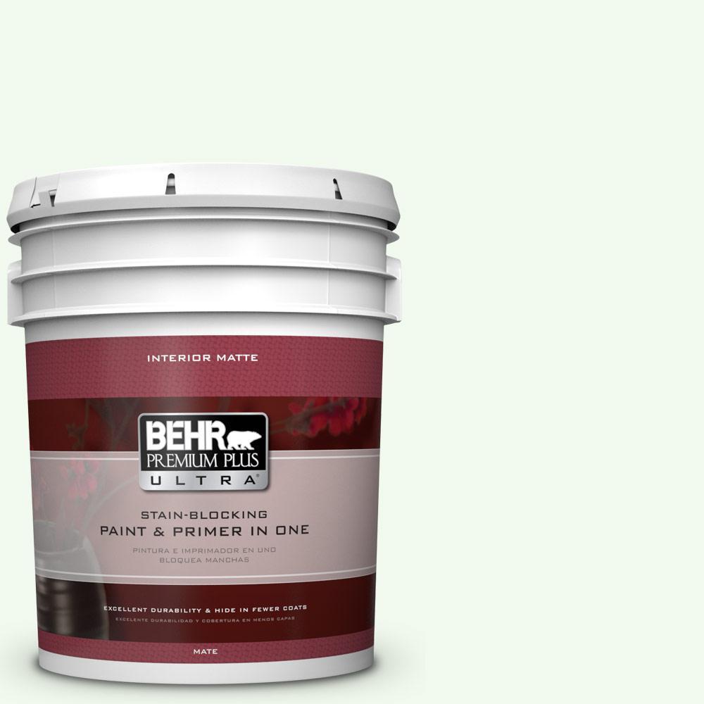 5 gal. #GR-W5 Unwind Matte Interior Paint