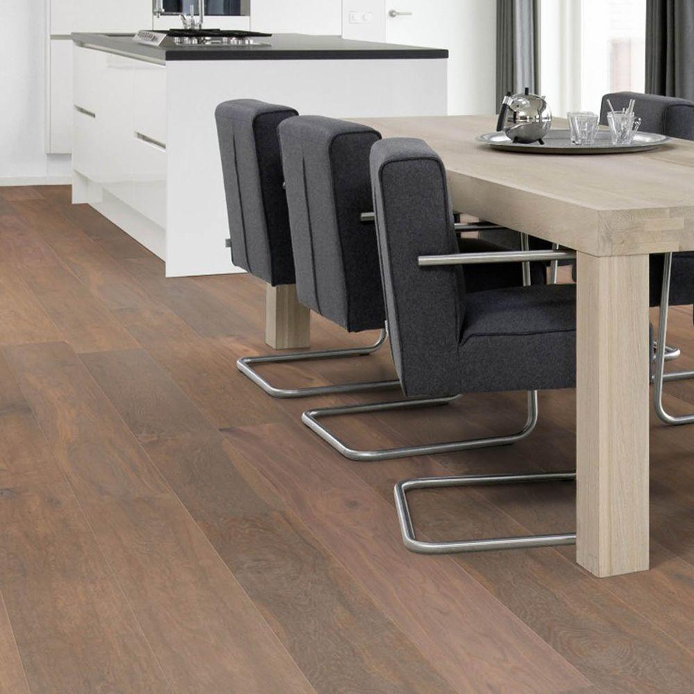 Flooors by LTL K2 Oak 25/32 in. Thick x 7-31/64 in. Wide x 74-51/64 in. Length Engineered Hardwood Flooring (15.54 sq. ft. / case)