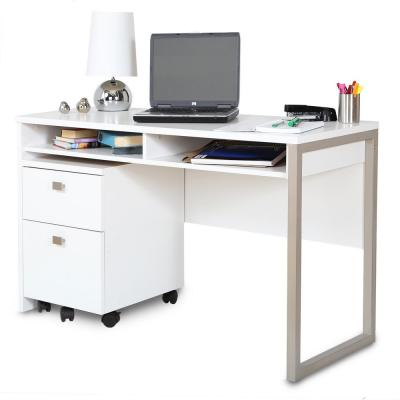 Interface Pure White File Cabinet