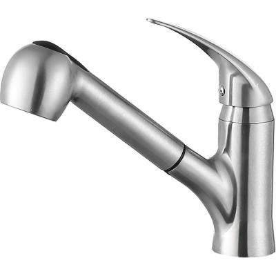 Del Acqua Single Handle Standard Kitchen Faucet in Brushed Nickel