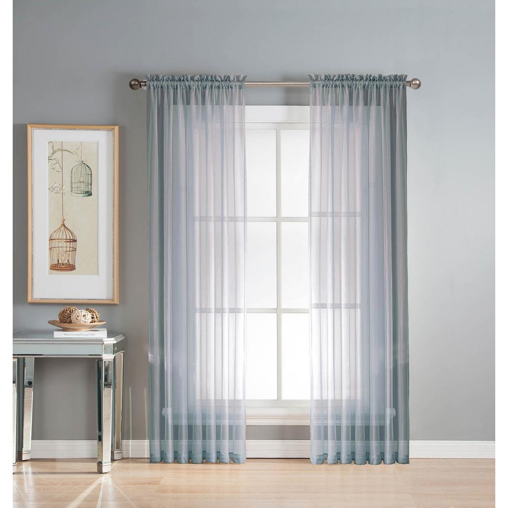 L Rod Pocket Curtain