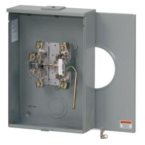 Square D 200 Amp Ringless-Lever Bypass Overhead or