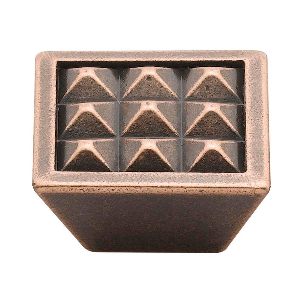 1.5 in. Venetian Bronze Pyramids Knob