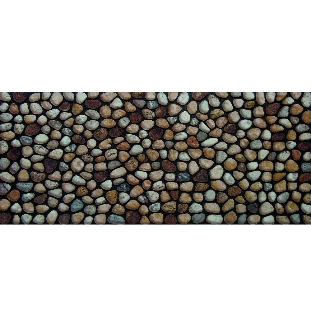 Apache Mills Rocky Road 20 In X 47 Recycled Rubber Door Mat