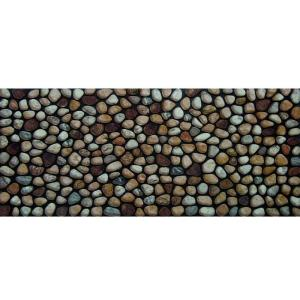 Apache Mills Rocky Road 20 inch x 47 inch Recycled Rubber Door Mat by Apache Mills