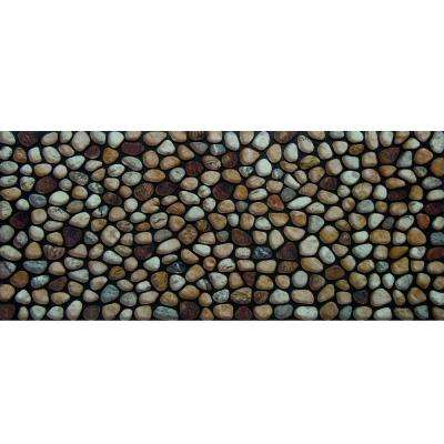 Rocky Road 20 in. x 47 in. Recycled Rubber Door Mat
