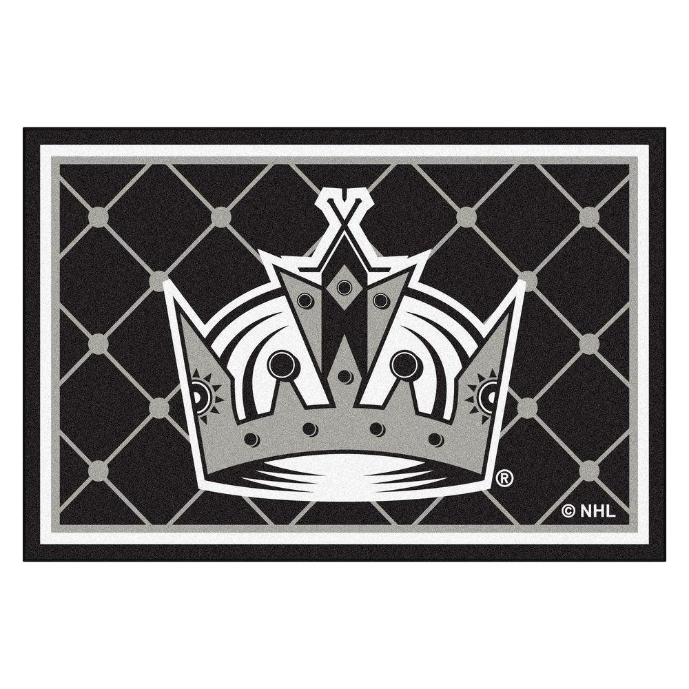 Fan Mats Los Angeles Kings 5 ft. x 8 ft. Area Rug, Team C...