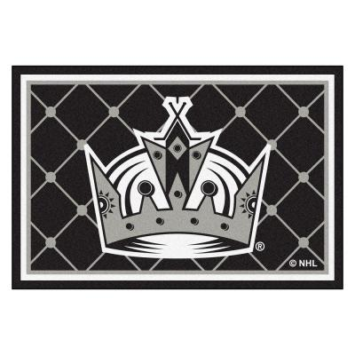 Los Angeles Kings 5 ft. x 8 ft. Area Rug