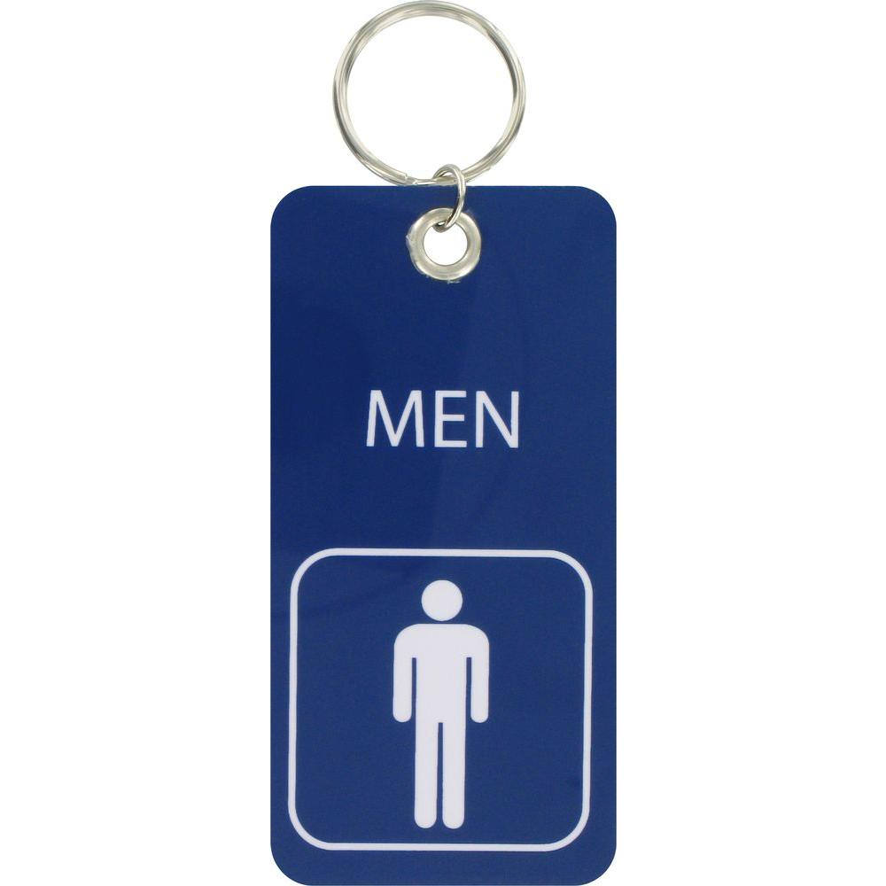 Bathroom Key Chain   Menu0027s