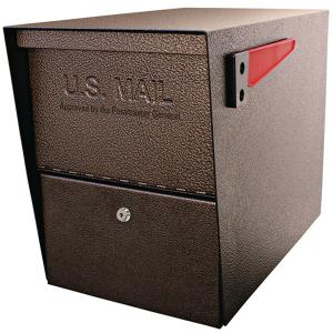 Mail Boss Package Master Locking Post-Mount Mailbox with High Security Patented Lock,... by Mail Boss