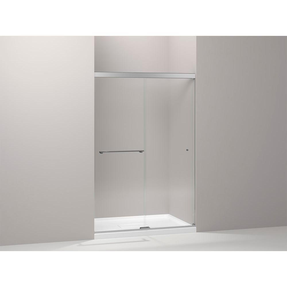 Revel 47-5/8 in. W x 70 in. H Frameless Sliding Shower