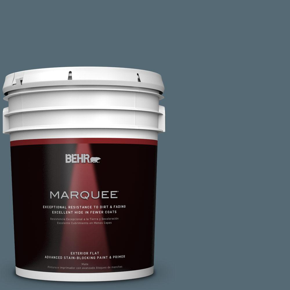5-gal. #ECC-64-3 Desert Night Flat Exterior Paint