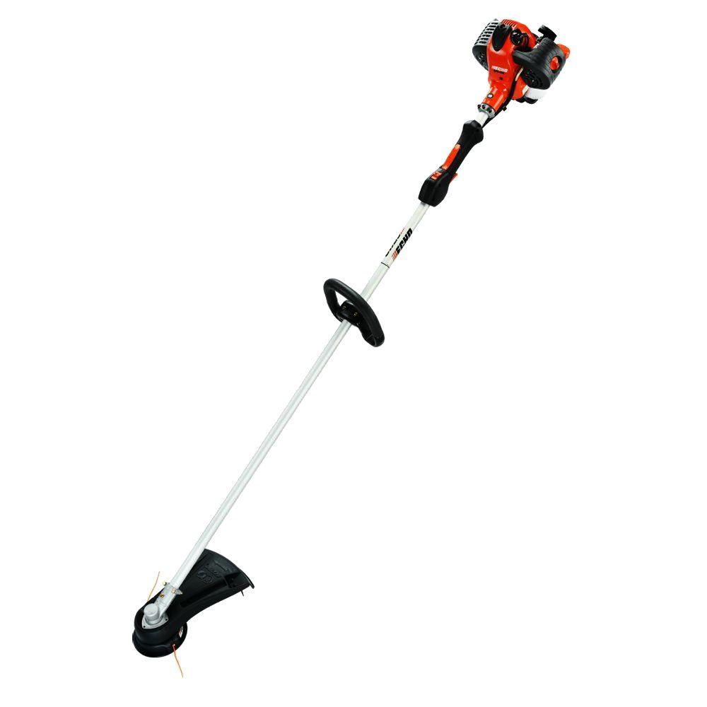 echo 2 cycle 25 4 cc straight shaft gas trimmer srm 266t the home rh homedepot com echo trimmers manual echo trimmers manual