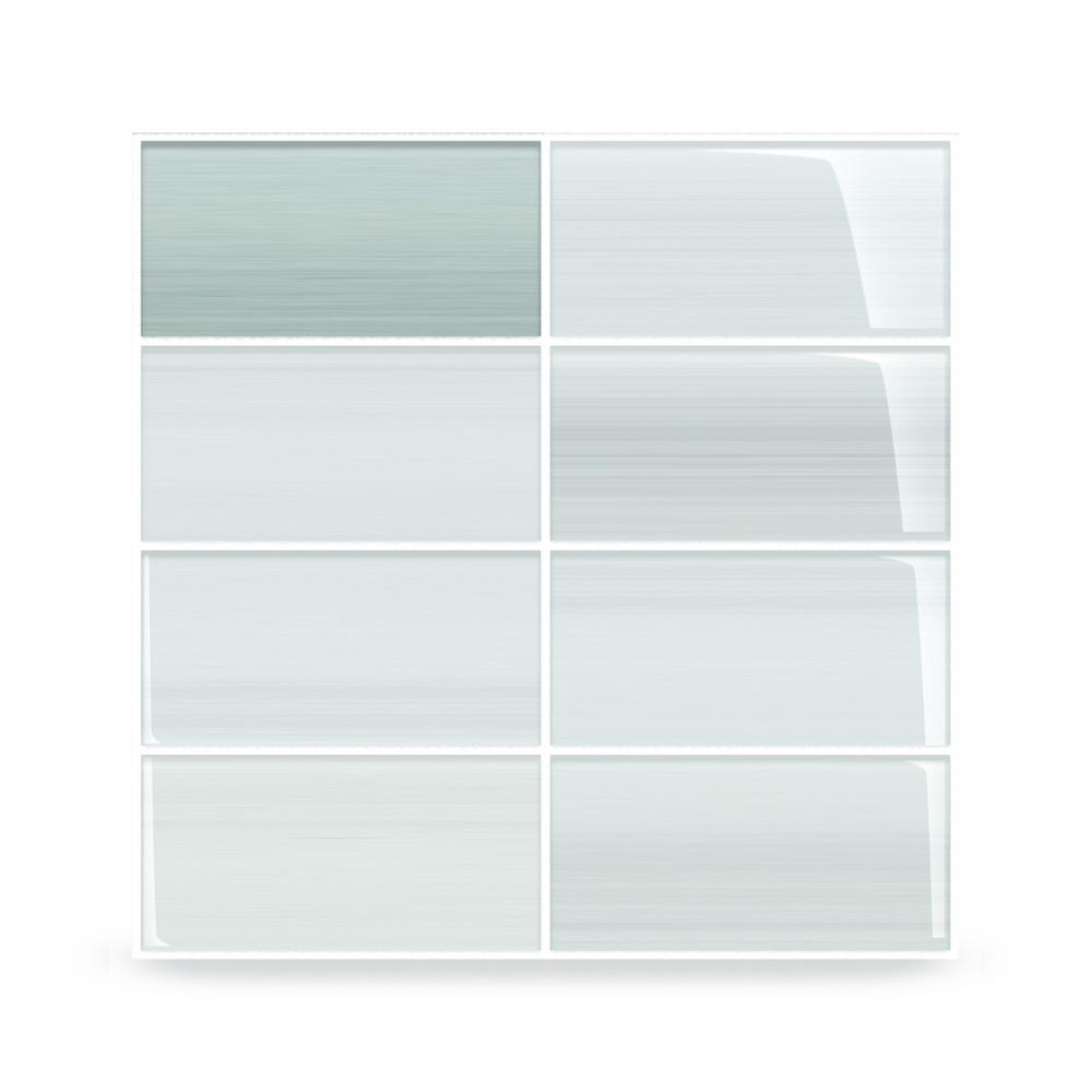 - Bodesi Vesper Glass Tile For Kitchen Backsplash And Showers - 3 In