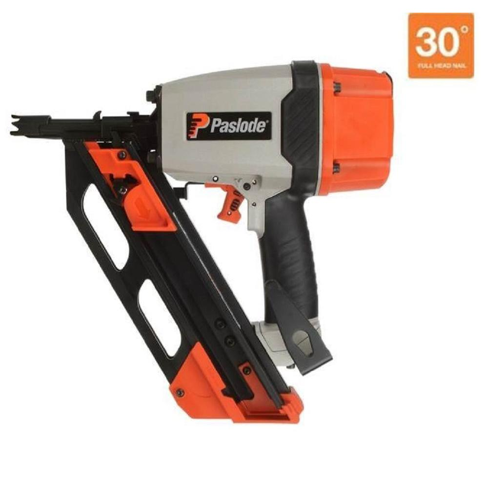 Paslode Compact Framing Nailer: Paslode Pneumatic 3-1/4 In. 30° Compact Framing Nailer