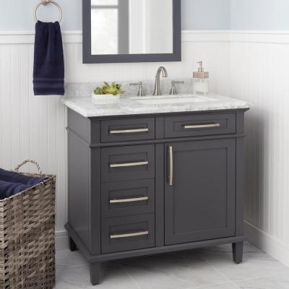 Fairway 8 in. Widespread 2-Handle High-Arc Bathroom Faucet in Brushed Nickel