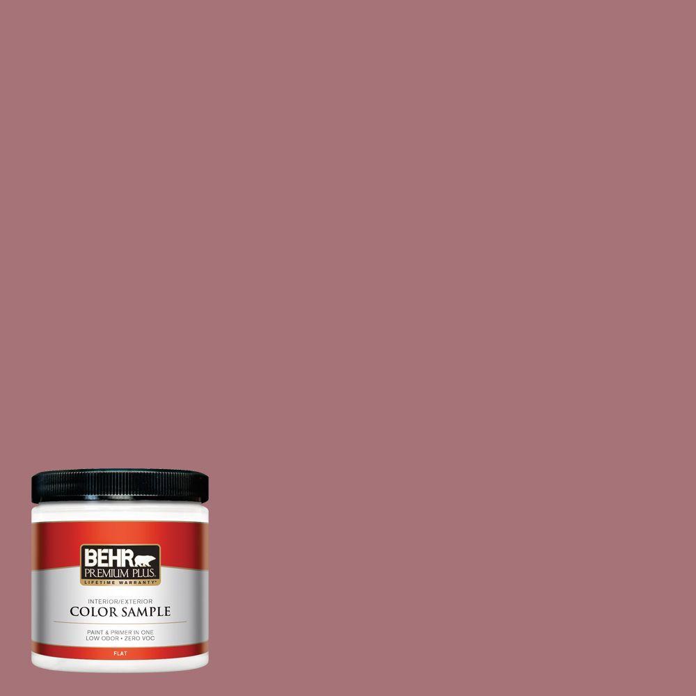 8 oz. #S130-5 Heirloom Rose Interior/Exterior Paint Sample