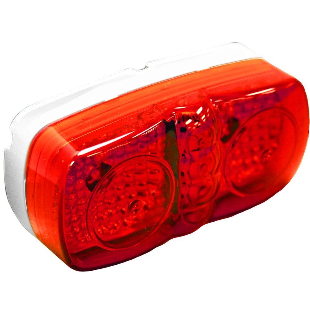 Blazer International Clearance 4 in. LED Marker Oblong Light, Red