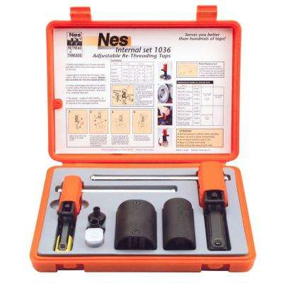7/8 in. - 2 5/8 in. Universal Internal Thread Repair Set (4-Piece)