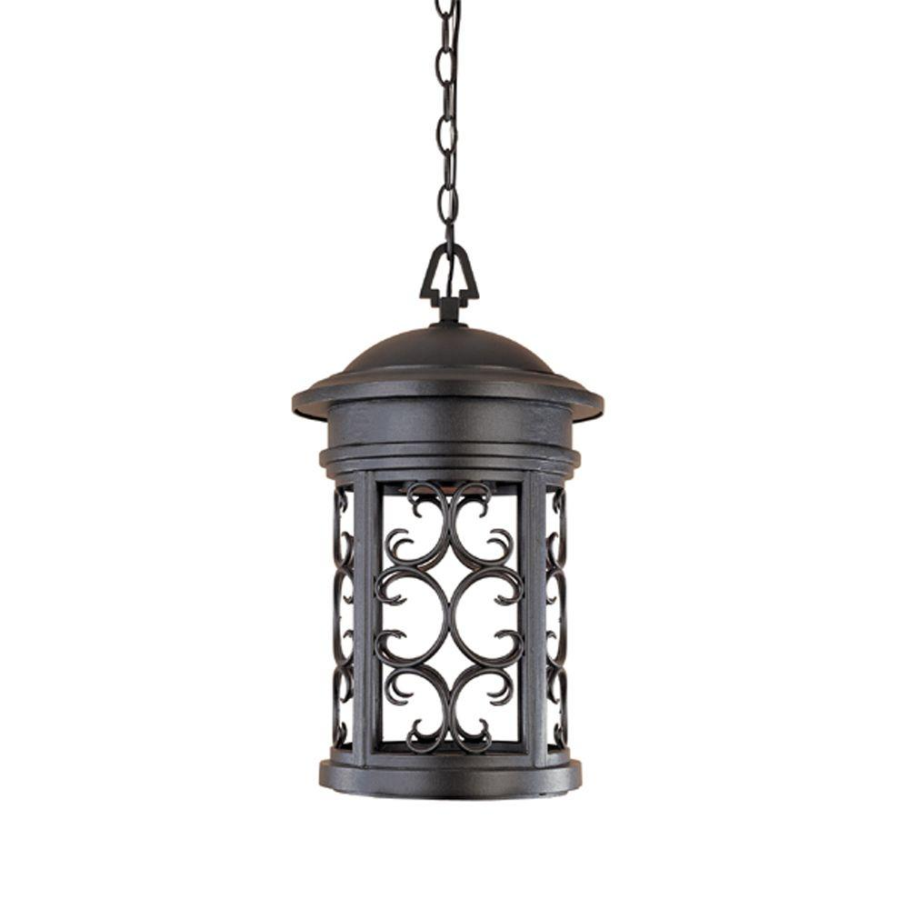 Chambery Oil Rubbed Bronze Outdoor Hanging Lamp