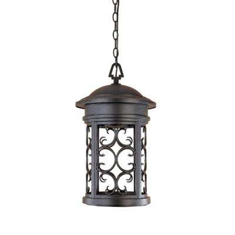 Ellington Oil Rubbed Bronze Outdoor Hanging Lamp