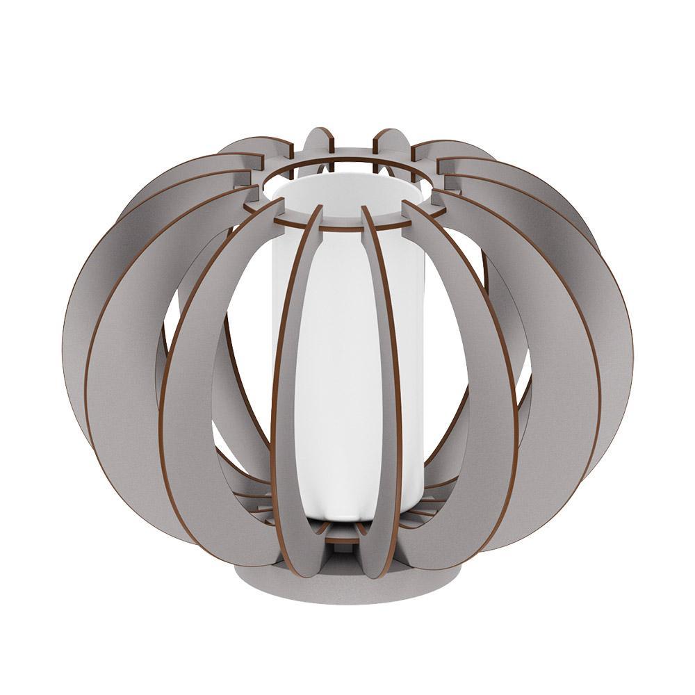 Stellato Colore 8 in. Matte Nickel Table Lamp