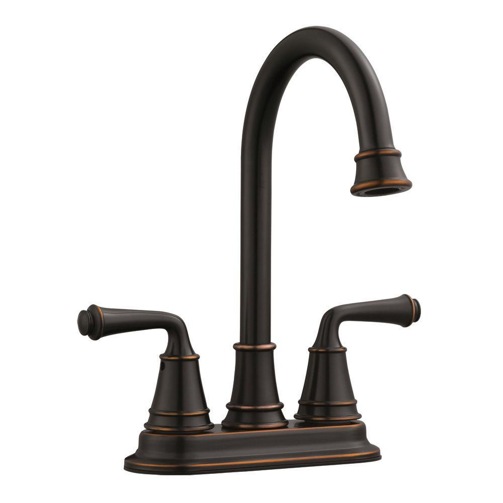 Eden 2-Handle Bar Faucet in Oil Rubbed Bronze