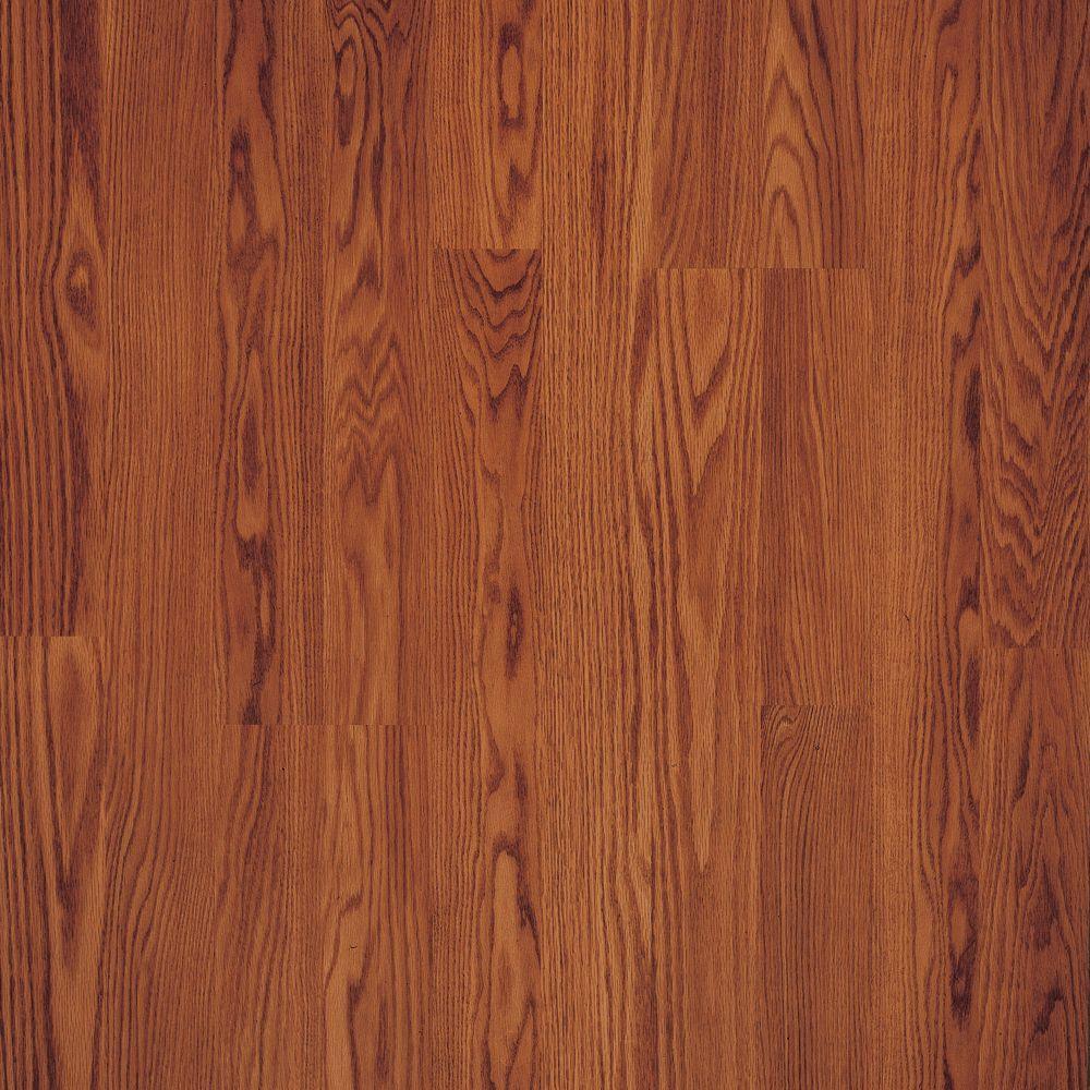 Pergo Presto Gunstock Oak 8 mm Thick x 7-5/8 in. Wide x 47-5/8 in. Length Laminate Flooring (20.17 sq. ft. / case)