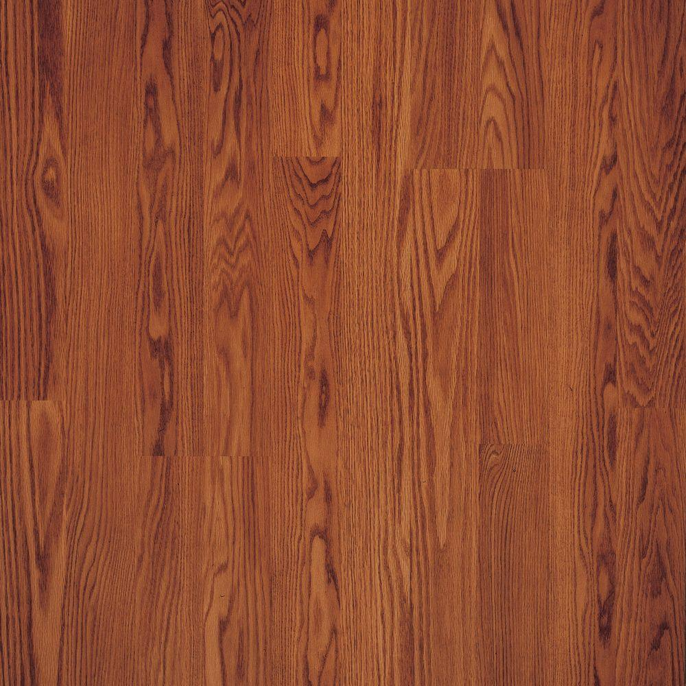 Pergo Presto Gunstock Oak 8 mm Thick x 7-5/8 in. Wide x 47-5/8 in. Length Laminate Flooring (605.1 sq. ft. / pallet)