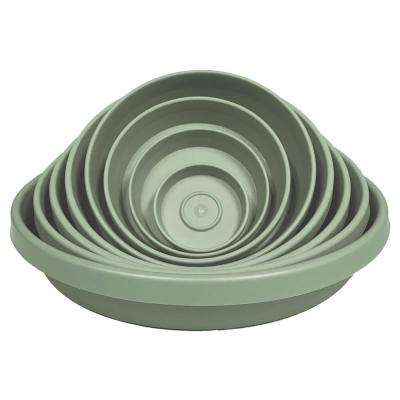 Terra 8 in. Plant Saucer Tray in Living Green