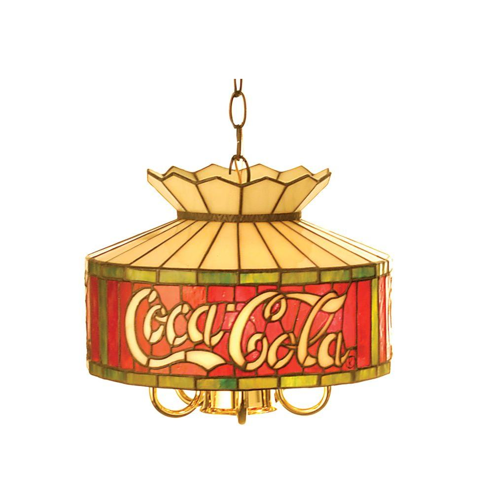 Illumine 6 Light Coca-Cola Pendant