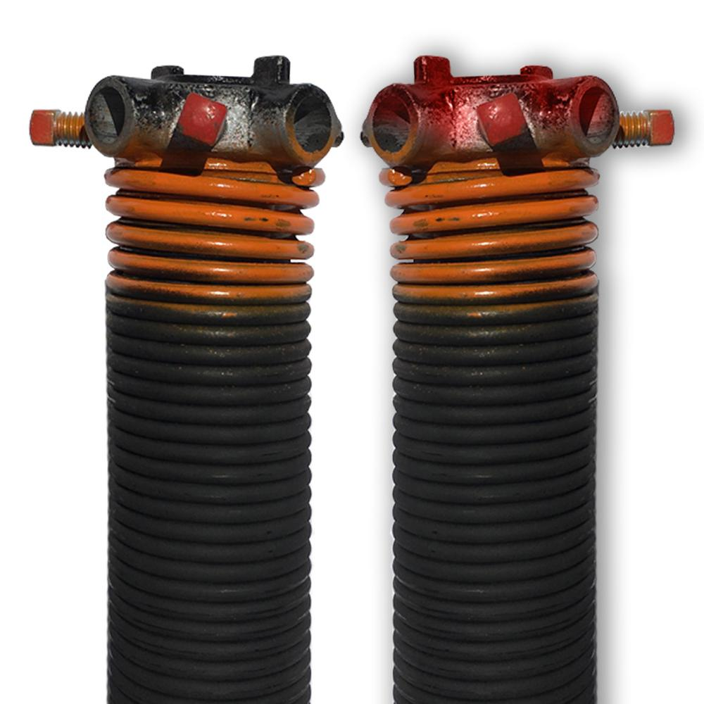 Dura Lift 0273 In Wire X 2 In D X 40 In L Torsion Springs In