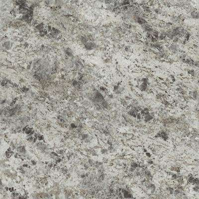 5 ft. x 12 ft. Laminate Sheet in 180fx Silver Flower Granite with Artisan Finish