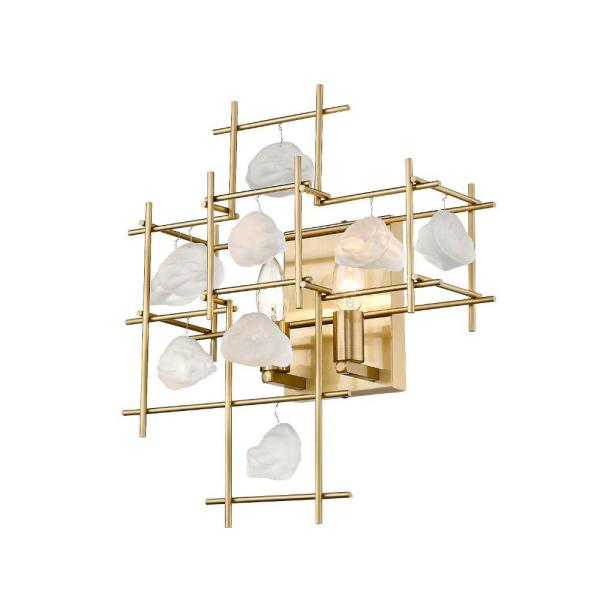 13.5 in. Aged Brass Sconce