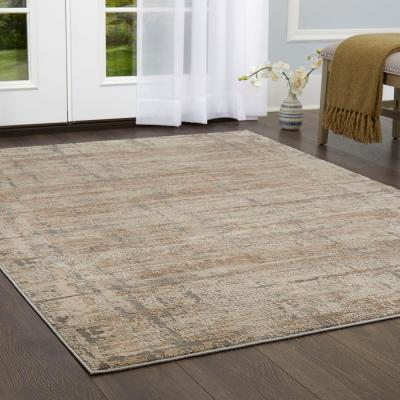 Kenmare Fasano Beige/Gray 7 ft. 10 in. x 10 ft. 2 in. Indoor Area Rug