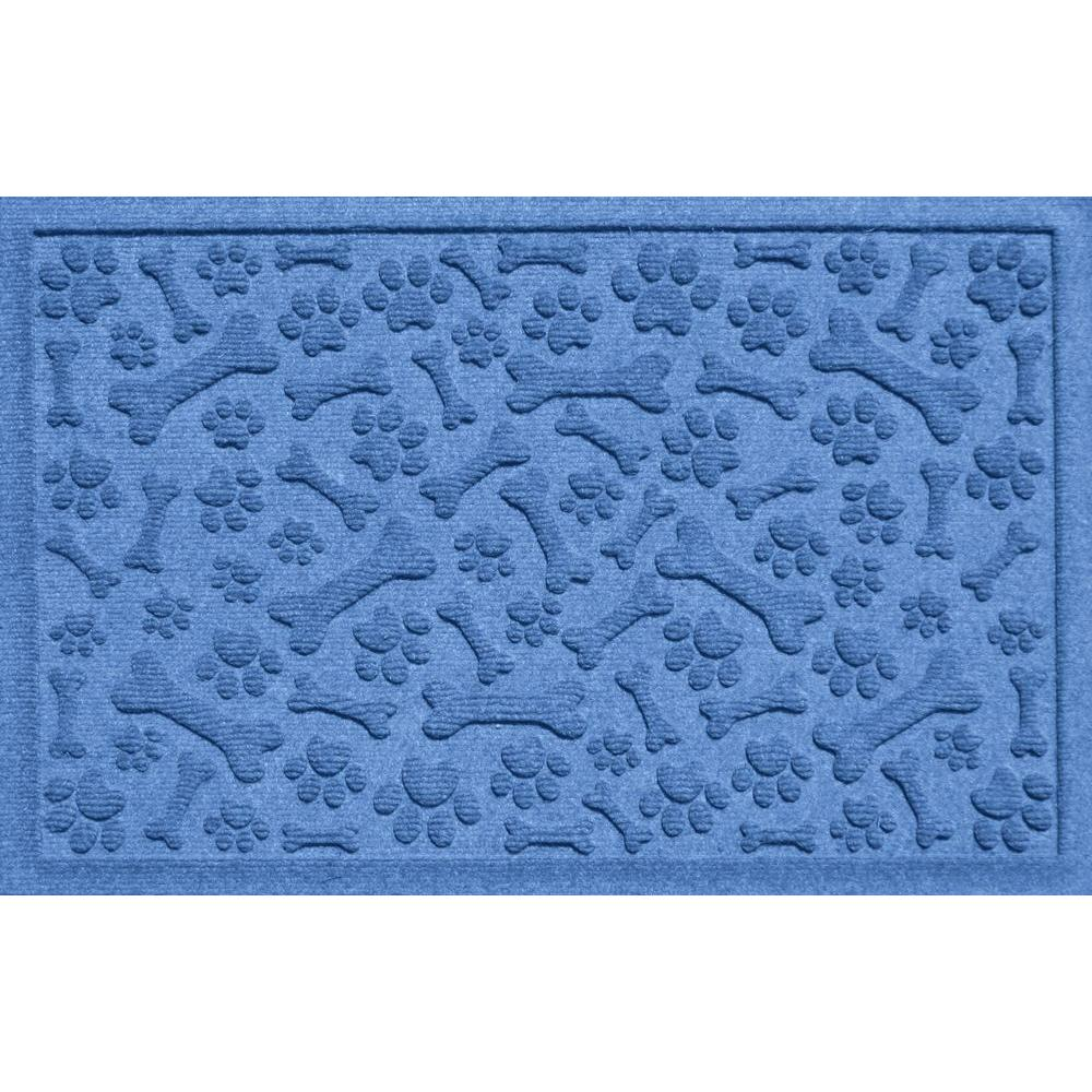 Aqua Shield Paws and Bones Bluestone 17.5 in. x 26.5 in.
