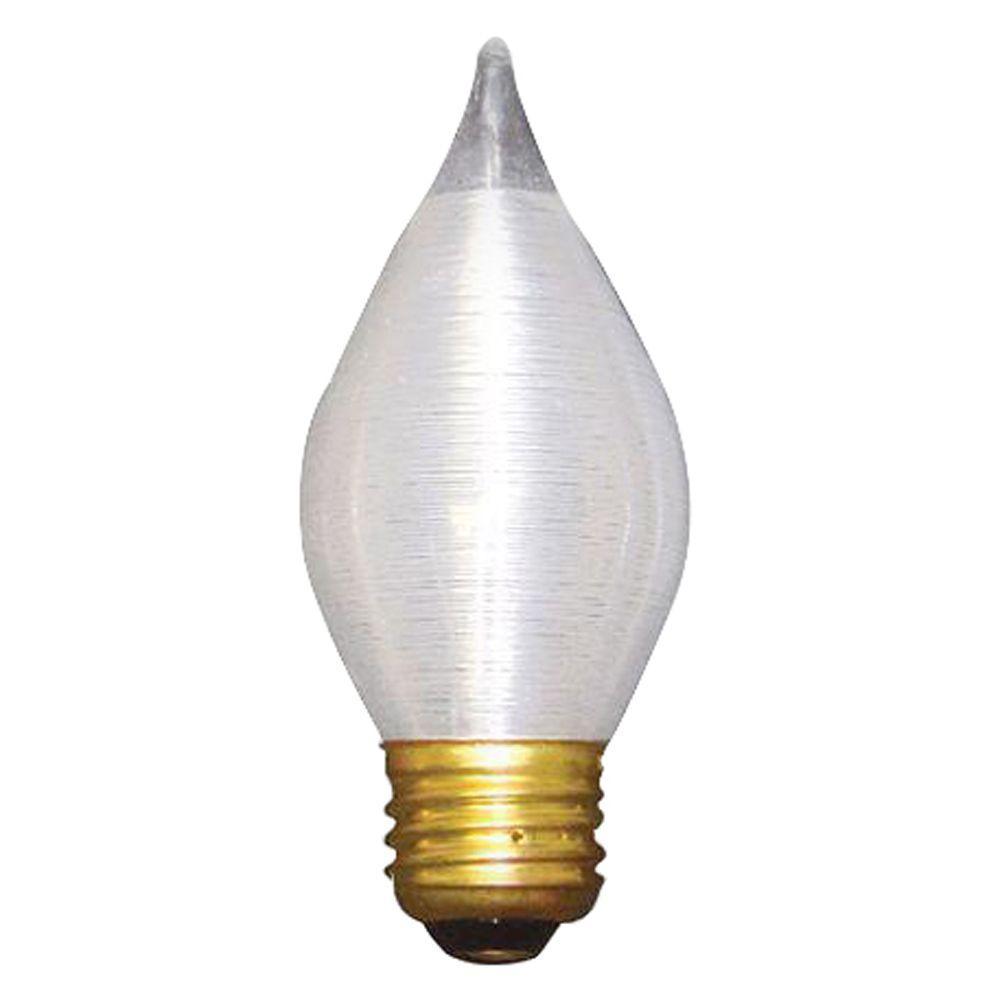 Bulbrite 40-Watt Incandescent Torpedo/C15 Light Bulb (10-Pack)
